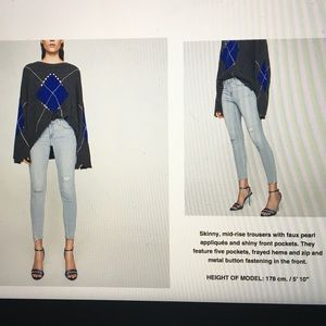 ZARA light wash jeans